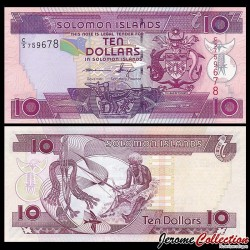 SALOMON (ILES) - Billet de 10 DOLLARS - 2011