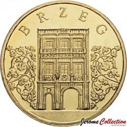 POLOGNE - PIECE de 2 ZLOTE - Villes de Pologne: Brzeg - 2007