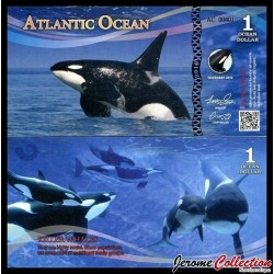 ATLANTIC OCEAN - Billet de 1 Ocean DOLLAR - 2016