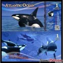 ATLANTIC OCEAN - Billet de 1 Ocean DOLLAR - 2016
