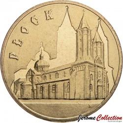 POLOGNE - PIECE de 2 ZLOTE - Villes de Pologne : Plock - 2007
