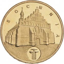 POLOGNE - PIECE de 2 ZLOTE - Villes de Pologne: Bochnia - 2006