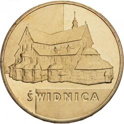 POLOGNE - PIECE de 2 ZLOTE - Villes de Pologne: Swidnica - 2007