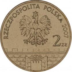 POLOGNE - PIECE de 2 ZLOTE - Villes de Pologne : Gorzow Wielkopolski - 2007