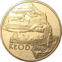 POLOGNE - PIECE de 2 ZLOTE - Villes de Pologne: Kłodzko - 2007