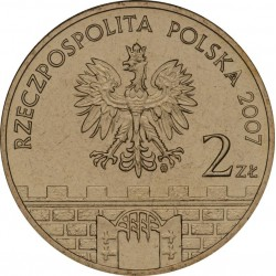 POLOGNE - PIECE de 2 ZLOTE - Villes de Pologne : Kłodzko - 2007