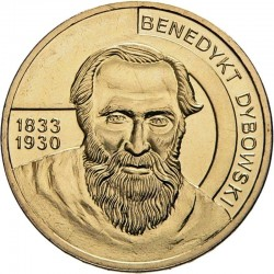 POLOGNE - PIECE de 2 ZLOTE - Explorateurs & Scientifiques Polonais: Benedykt Dybowski - 2010 Y#742