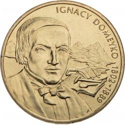 POLOGNE - PIECE de 2 ZLOTE - Explorateurs & Scientifiques Polonais: Ignacy Domeyko - 2007
