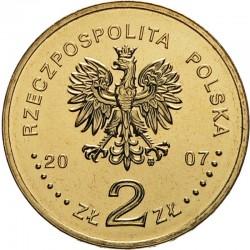 POLOGNE - PIECE de 2 ZLOTE - Explorateurs & Scientifiques Polonais : H. Arctowski et A. Dobrowolski - 2007