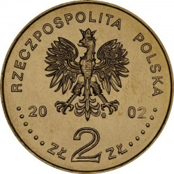 POLOGNE - PIECE de 2 ZLOTE - Explorateurs & Scientifiques Polonais : Bronisław Malinowski - 2002