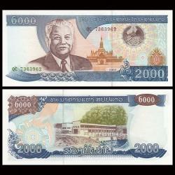 LAOS - Billet de 2000 Kip - 2003