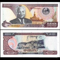 LAOS - Billet de 5000 Kip - 2003