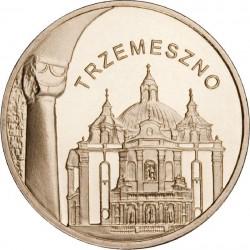 POLOGNE - PIECE de 2 ZLOTE - Villes de Pologne: Trzemeszno - 2010
