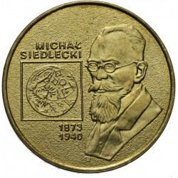 POLOGNE - PIECE de 2 ZLOTE - Explorateurs & Scientifiques Polonais: Michal Siedlecki - 2001