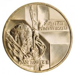 POLOGNE - PIECE de 2 ZLOTE - Pontificat de Jean paul II - 2003 Y#465