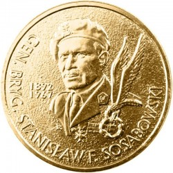 POLOGNE - PIECE de 2 ZLOTE - Général Stanislaw Sosabowski - 2004