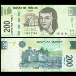 MEXIQUE - BILLET de 200 Pesos - 2013