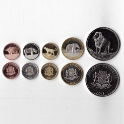 SOMALIE - SET / LOT de 5 PIECES de 5 10 20 50 100 Shillings - 2013