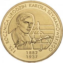 POLOGNE - PIECE de 2 ZLOTE - Karol Szymanowski - 2007 Y#612