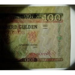 FLANDRES - Billet de 100 Florins / 100 Gulden - Pierre Paul Rubens - 2015