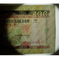 FLANDRES - Billet de 100 Florins / 100 Gulden - Pierre Paul Rubens - 2015
