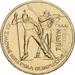 POLOGNE - PIECE de 2 ZLOTE - Jeux Olympiques de Turin - 2006 Y#605