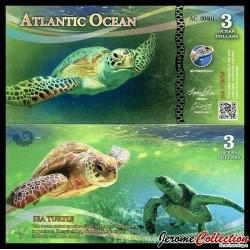 ATLANTIC OCEAN - Billet de 3 Ocean DOLLARS - 2016