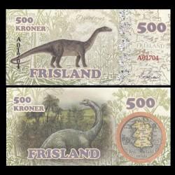 FRISLAND - Billet de 500 Kroner - Diplodocus - 2016
