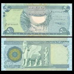 IRAK - Billet de 500 Dinars - 2015