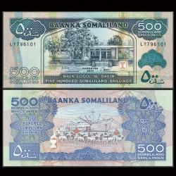 SOMALILAND - Billet de 500 Shillings - 2011
