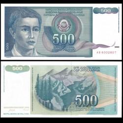 YOUGOSLAVIE - Billet de 500 Dinara - 1990
