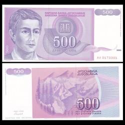 YOUGOSLAVIE - Billet de 500 Dinara - 1992
