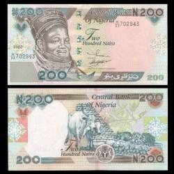 NIGERIA - Billet de 200 Naira - 2002