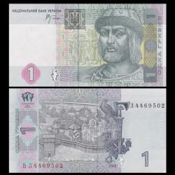 UKRAINE - Billet de 1 Hrivnya - Prince St. Vladimir - 2005 P116b