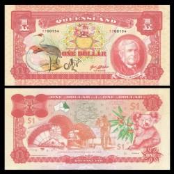 QUEENSLAND - Billet de 1 Dollar - Sir G.Bowen - 2017