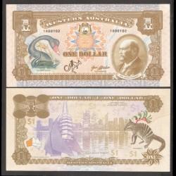 WESTERN AUSTRALIA - Billet de 1 Dollar - Sir John Forrest - 2018