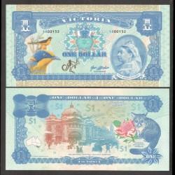 VICTORIA - Billet de 1 Dollar - Reine Victoria - 2018