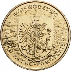 POLOGNE - PIECE de 2 ZLOTE - Voïvodie de Kujawsko-Pomorskie (Couïavie-Poméranie) - 2004