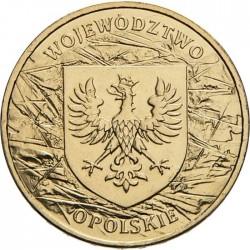 POLOGNE - PIECE de 2 ZLOTE - Voïvodie d'Opolskie (Opole) - 2004