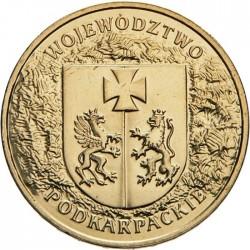 POLOGNE - PIECE de 2 ZLOTE - Voïvodie des Podkarpackie (Basses-Carpates) - 2004