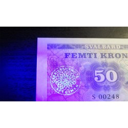 SVALBARD - Billet de 50 Kroner - Roald Amundsen - 2015
