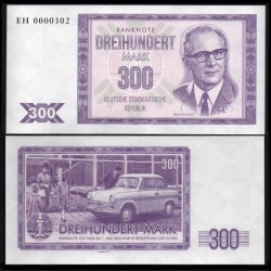 ALLEMAGNE (DDR) - Billet de 300 Mark - Erich Honecker - 2016