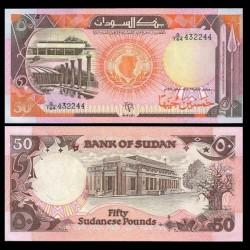 SOUDAN - BILLET de 50 Livres Soudanaises - 1991