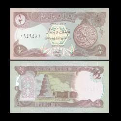 IRAK - Billet de 1/2 Dinar - Guerre du Golfe - 1993