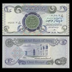 IRAK - Billet de 1 Dinar - 1980