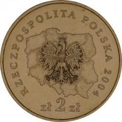 POLOGNE - PIECE de 2 ZLOTE - Voïvodie de Pomorskie (Poméranie) - 2004
