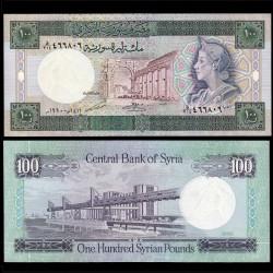 SYRIE - BILLET de 100 Livres Syriennes - 1990