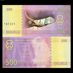 ANNOBON - Billet de 500 Ekuele - Série insectes - 2013