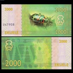 ANNOBON - Billet de 2000 Ekuele - Série insectes - 2013