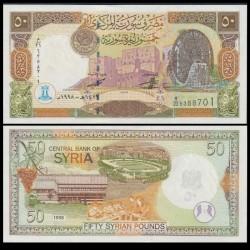 SYRIE - BILLET de 50 Livres Syriennes - 1998